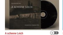 """CD Rezenzion """"A scheene Leich"""" im Straubinger Tagblatt"""